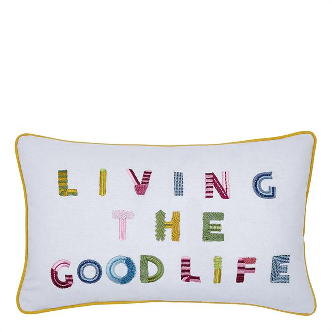Joules Living the Good Life Cushion