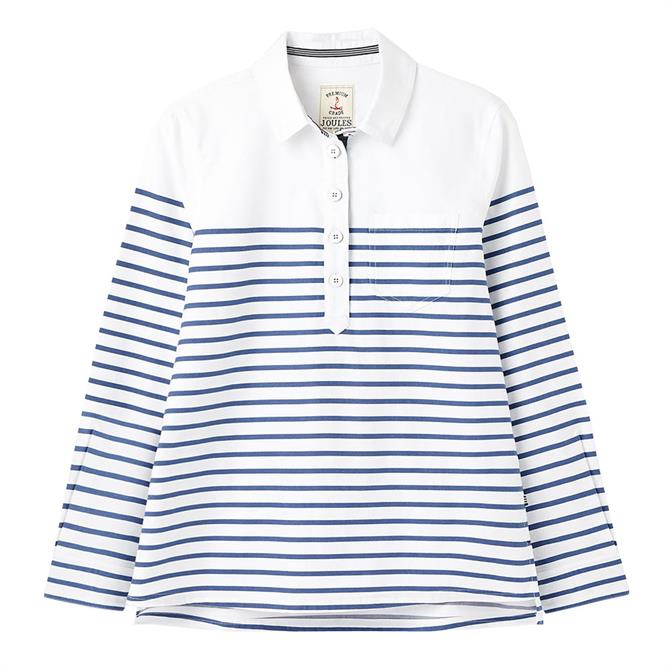 Joules Ashbrook Stripe Popover Deck Shirt