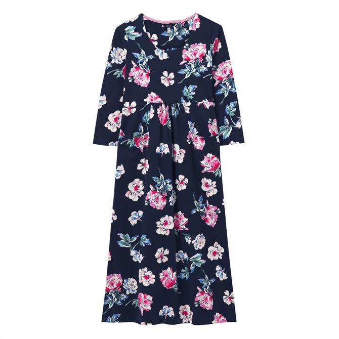 Joules Audrey Floral Jersey Dress