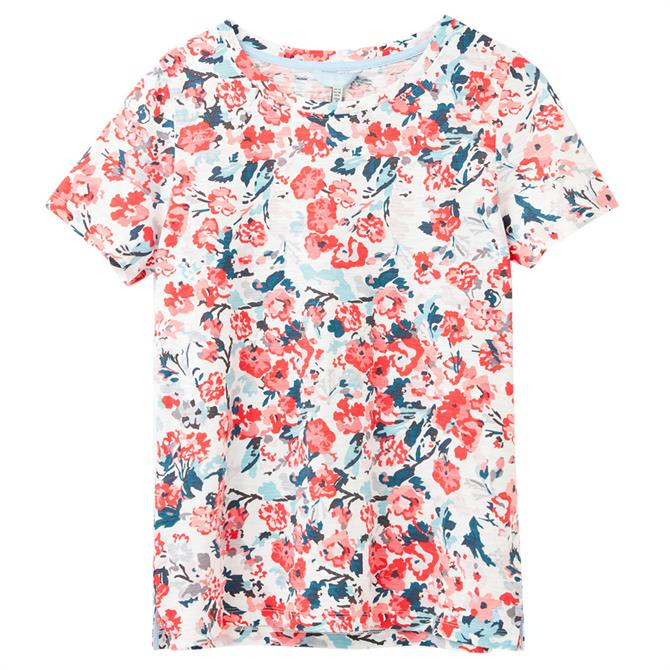 Joules Carley Print Short Sleeve T-Shirt