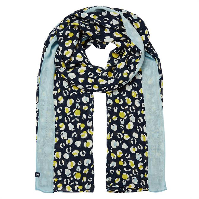 Joules Conway Rectangle Print Scarf