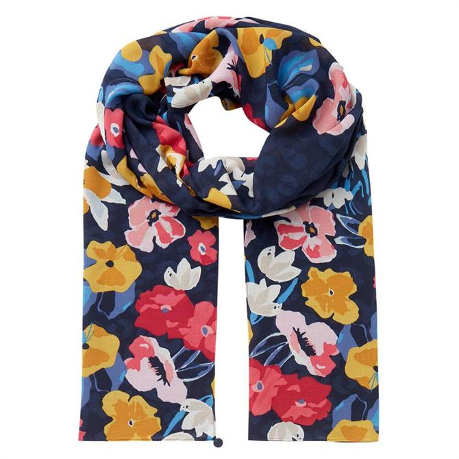 Joules Conway Lightweight Printed Scarf