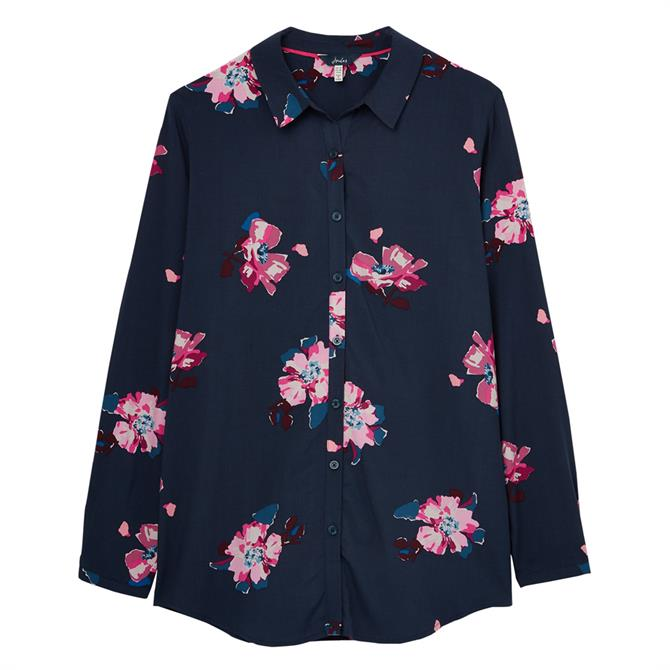 Joules Elvina Button Front Woven Shirt