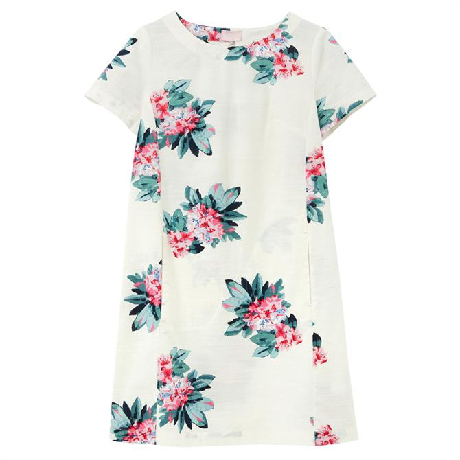 Joules Fifi Printed Floral Shift Dress