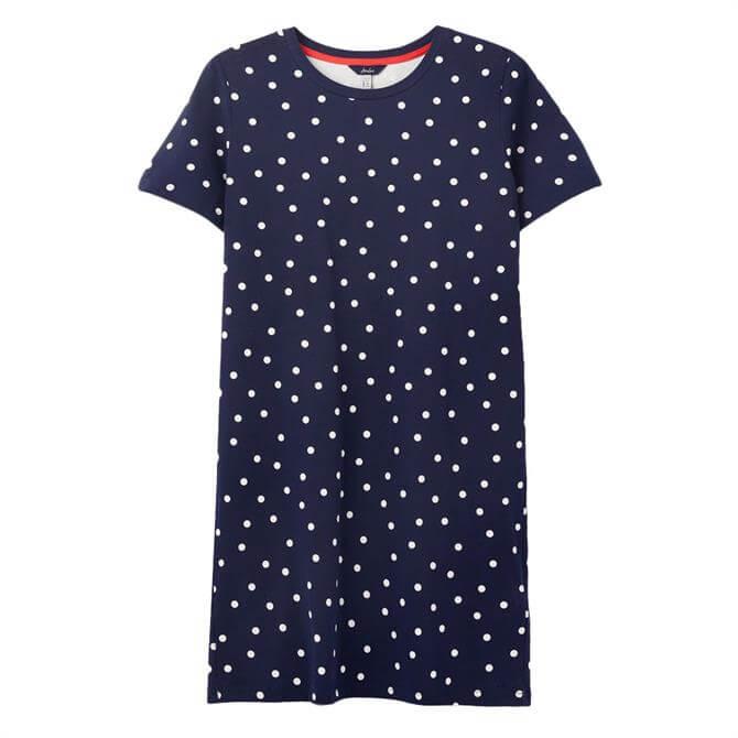 Joules Liberty Print A-Line Jersey Dress