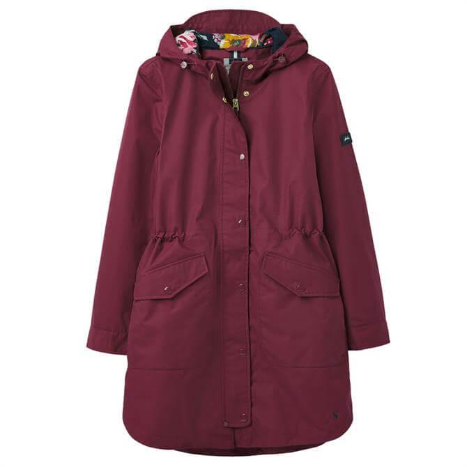 Joules Loxley Longline Waterproof Hooded Jacket