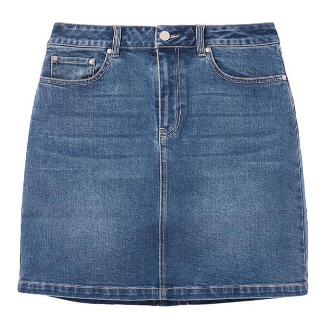Joules Marnie Denim Skirt