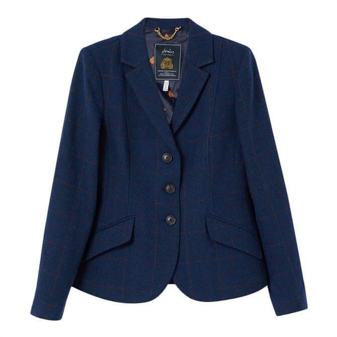 Joules Milford Single Breasted Tweed Jacket