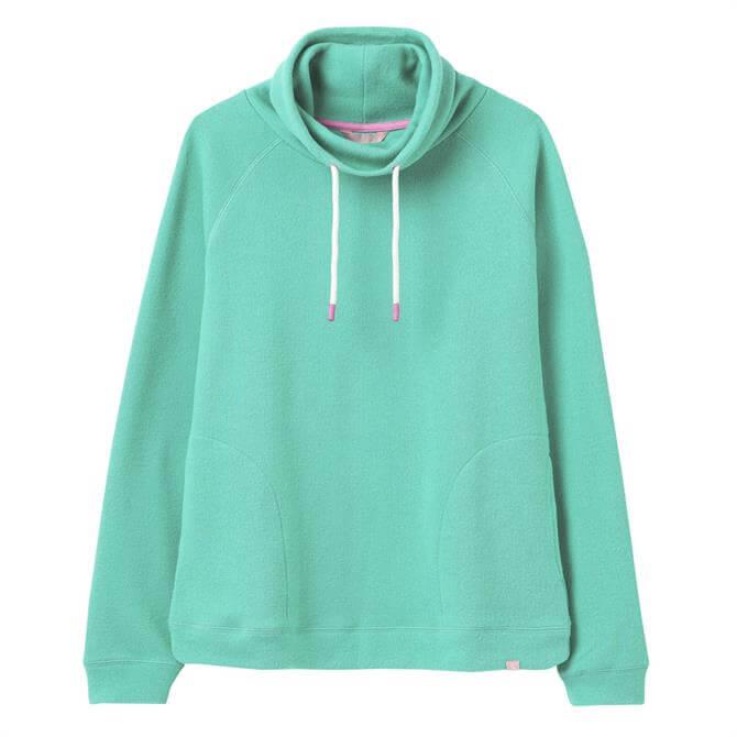 Joules Nadia Ribbed Drawstring Sweatshirt