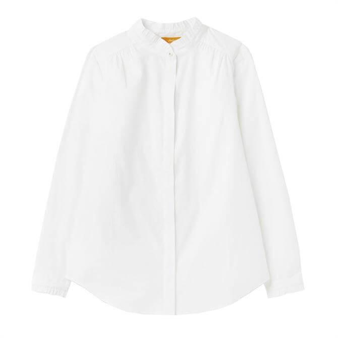 Joules Emma Pie Crust Button Through Shirt