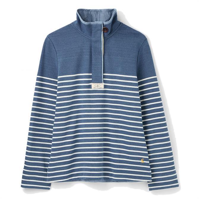 Joules Saunton Saltwash Classic Striped Sweatshirt