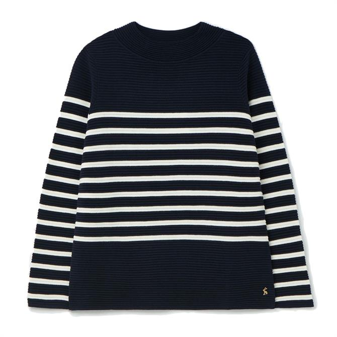 Joules Valencia Knitted Ripple Stitch Jumper