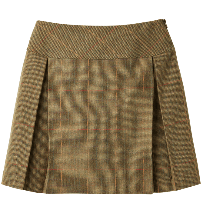 Joules Aggie Tweed A-Line Skirt