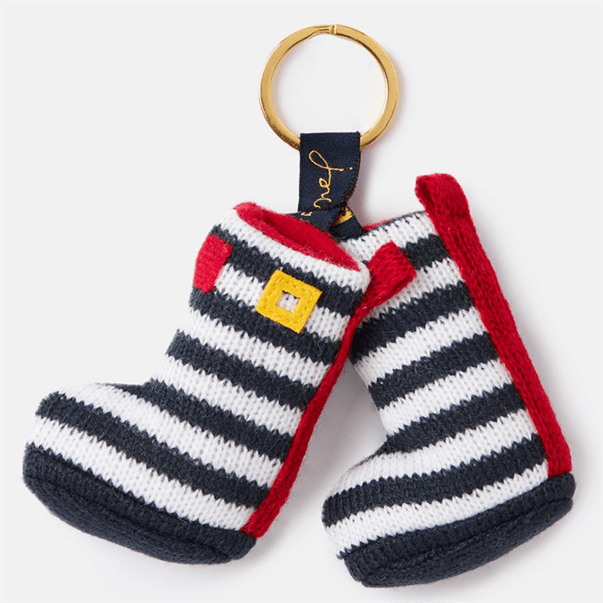 Joules Coxwold Knitted Welly Key Ring