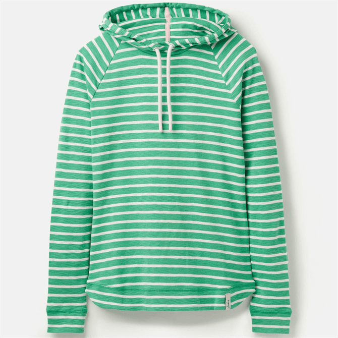 Joules Marlston Striped Hooded Sweatshirt