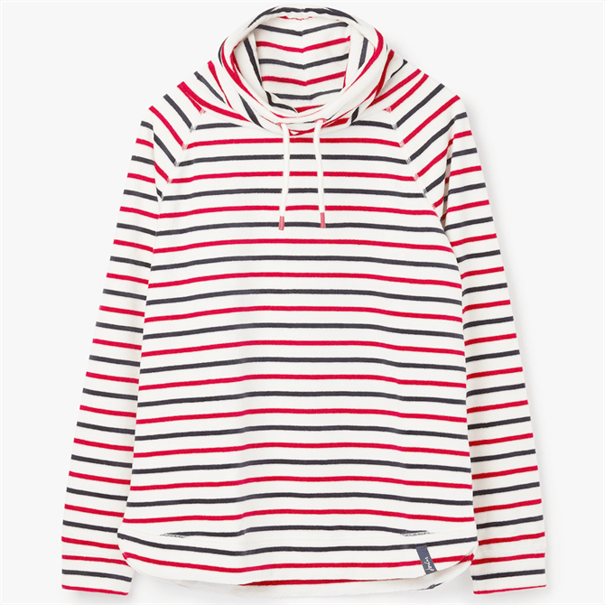 Joules Mayston Funnel Neck Striped Light Sweatshirt