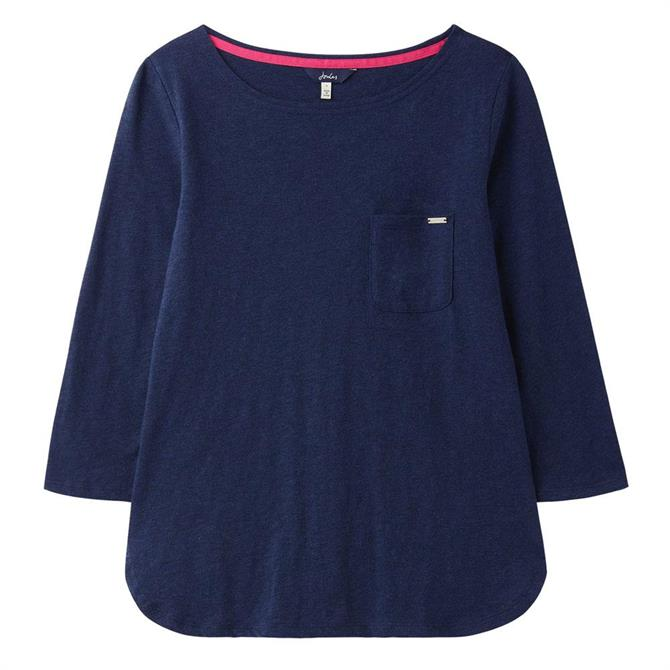 Joules Melissa Navy Pyjama Top