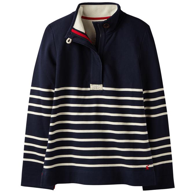 Joules Saunton Stripe Cotton Women's Sweatshirt