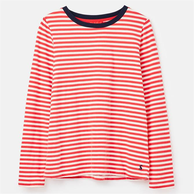 Joules Selma Long Sleeve Striped Jersey Top