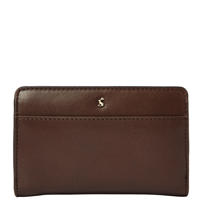Joules Wyton Leather Foldover Purse