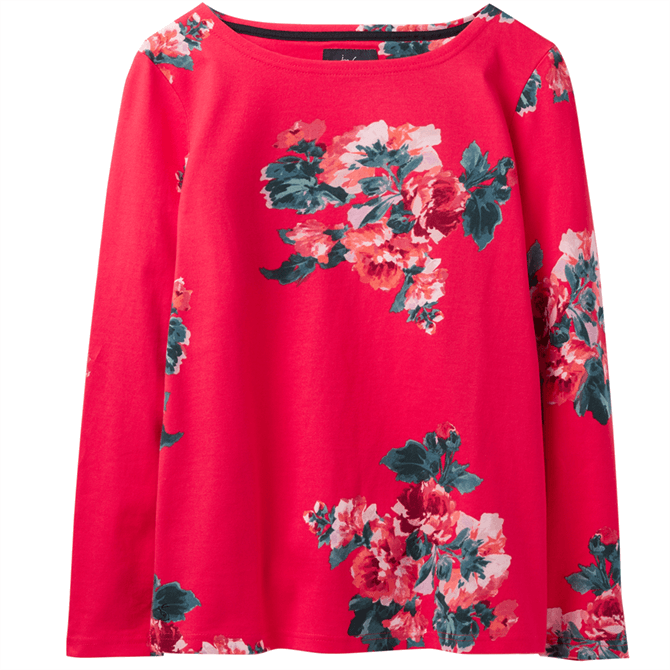 Joules Harbour Print Jersey Long Sleeve Top