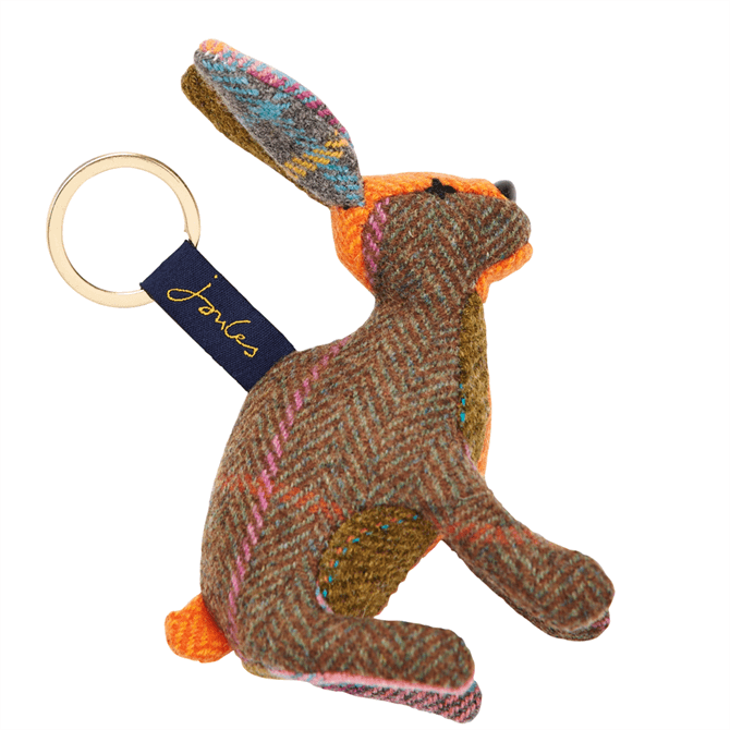 Joules Tweedle Hare Character Keyring