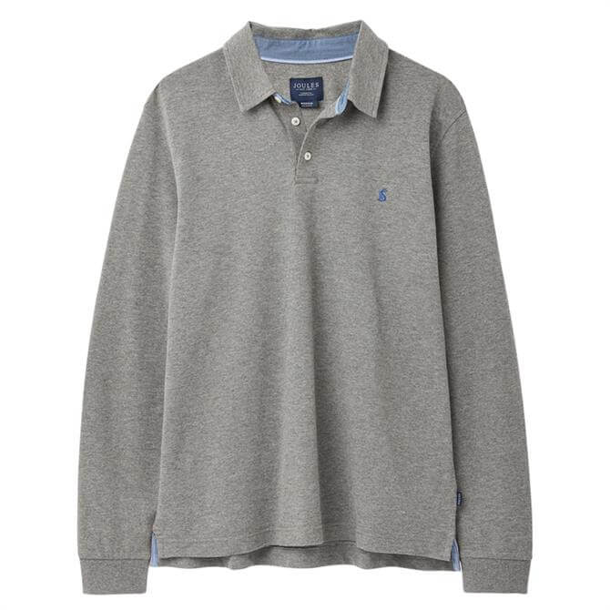 Joules Woodwell Long Sleeve Polo Top