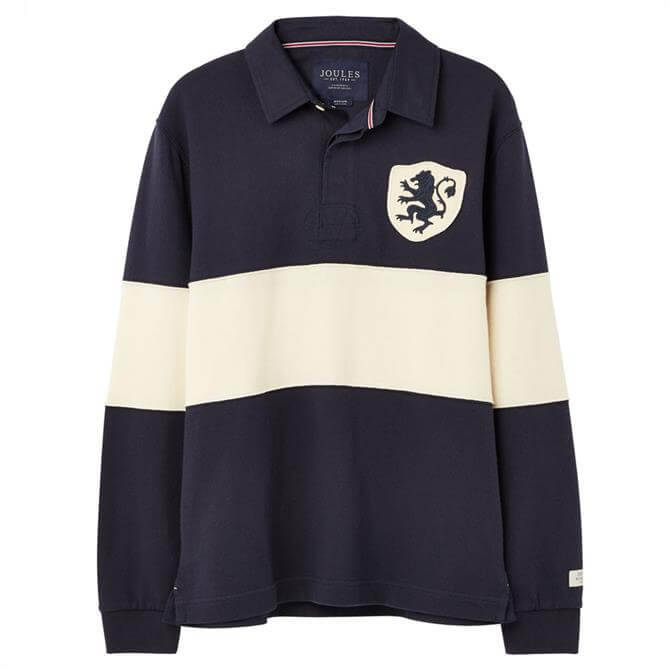 Joules Sidewell Badged Rugby Shirt