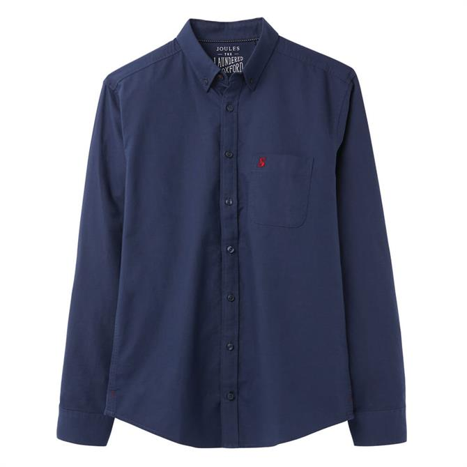 Joules Classic Fit Laundered Long Sleeve Oxford Shirt
