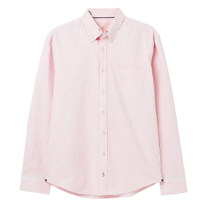 Joules Laundered Oxford Long Sleeve Classic Fit Shirt