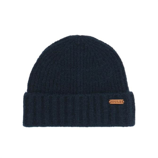 Joules Navy Bamburgh Knitted Hat