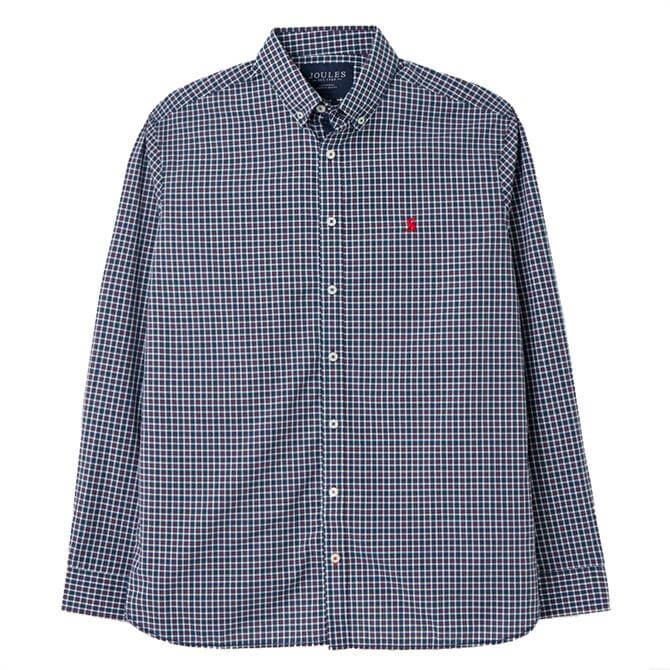 Joules Bythe Long Sleeve Classic Fit Poplin Shirt