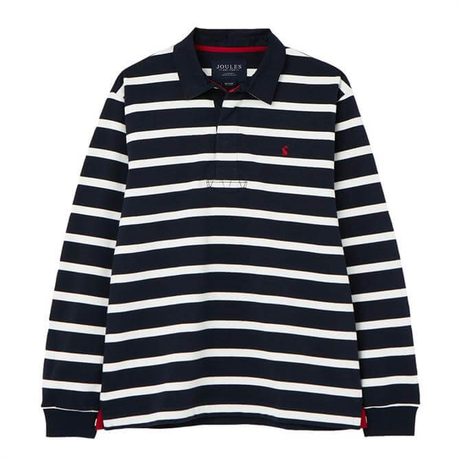Joules Onside Striped Rugby Shirt