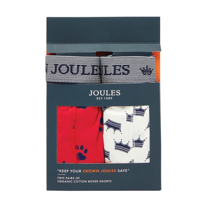 Joules Crown Joules 2 Pack Boxers