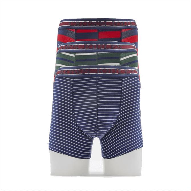 Joules Crown Joules 3 Pack Underwear - Top Dog Multi