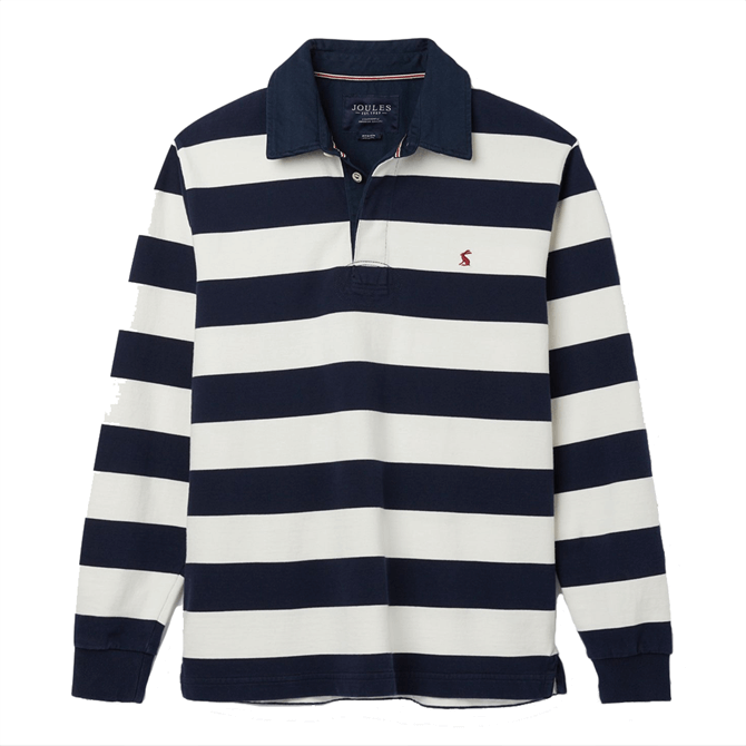 Joules Onside Long Sleeve Stripe Rugby Shirt AW19