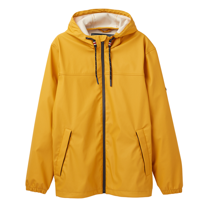 Joules Portwell Lightweight Waterproof Jacket - Antique Gold
