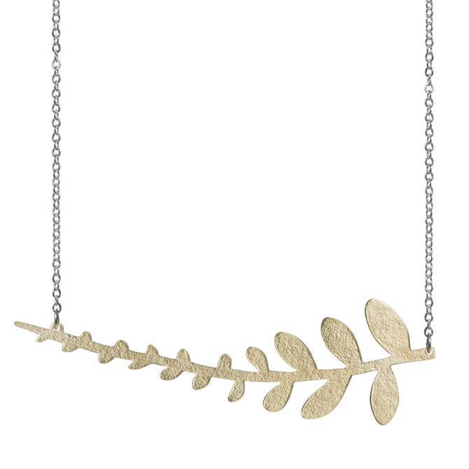 Just Trade Coralie Fern Necklace