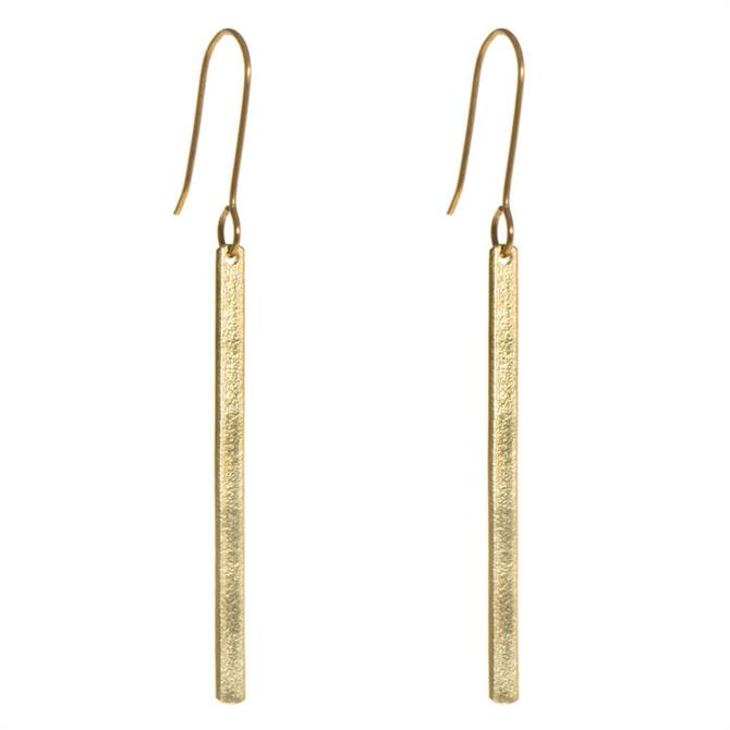 Just Trade Ruthi Bar Earrings