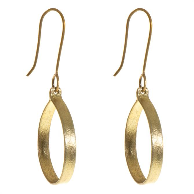 Just Trade Ruthi Round Small Earrings