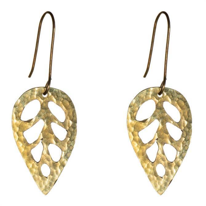Just Trade Simple Leaf Earrings