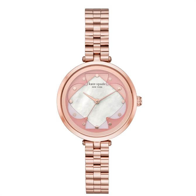 Kate Spade New York Holland Rose Gold Tone Bracelet Watch
