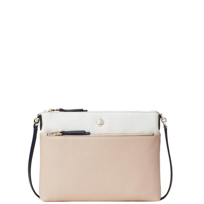 Kate Spade New York Polly Multi Blush Medium Crossbody Bag