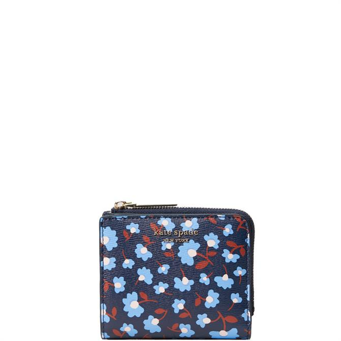 Kate Spade New York Spencer Party Floral Small Bilfold Wallet