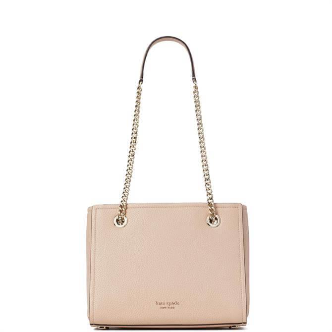 Kate Spade New York Amelia Blush Pebble Small Leather Tote Bag