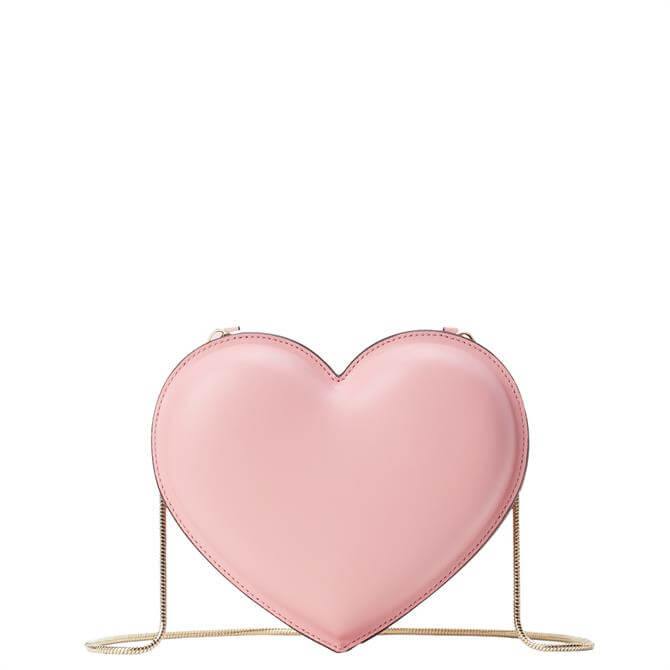 Kate Spade New York 3D Pink Heart Crossbody Bag