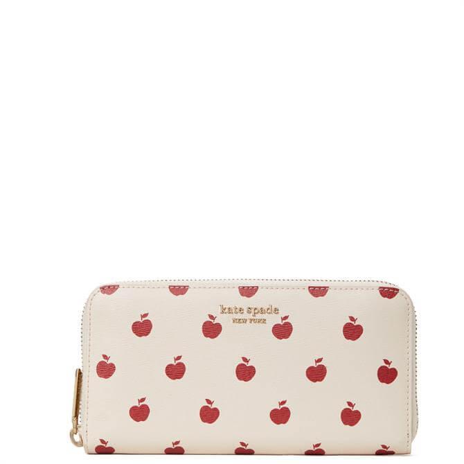 Kate Spade New York Apple Toss Zip Around Wallet