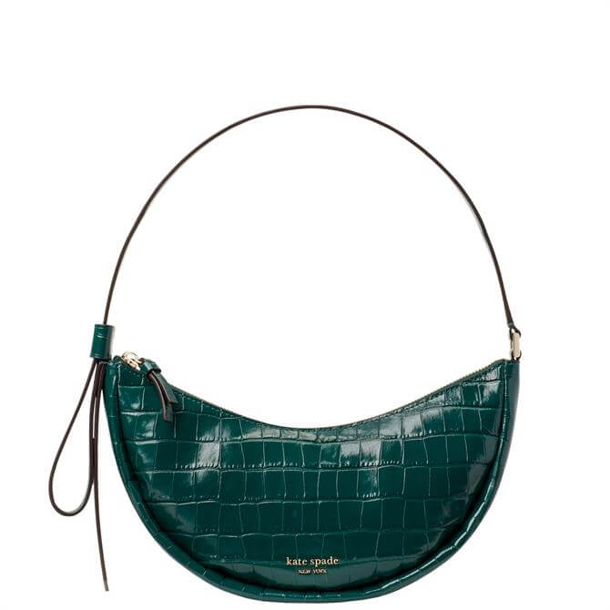 Kate Spade New York Smile Croc Embossed Shoulder Bag
