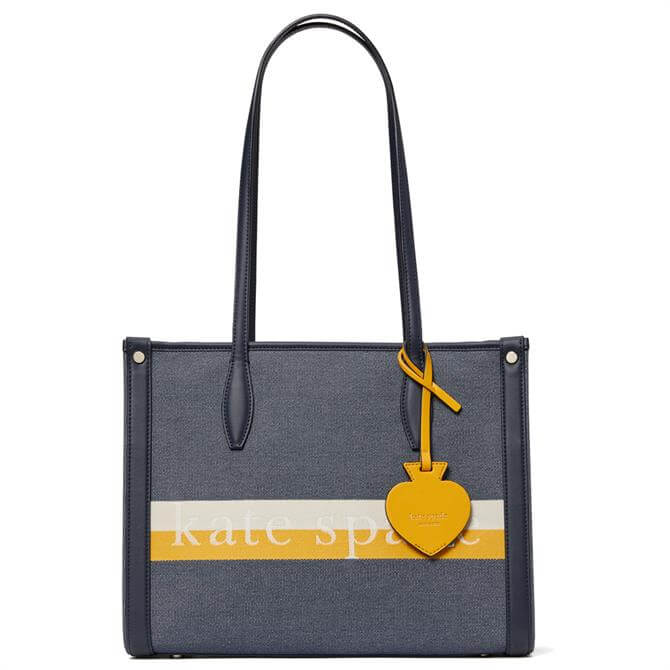 Kate Spade New York Market Stripe Logo Medium Tote Bag