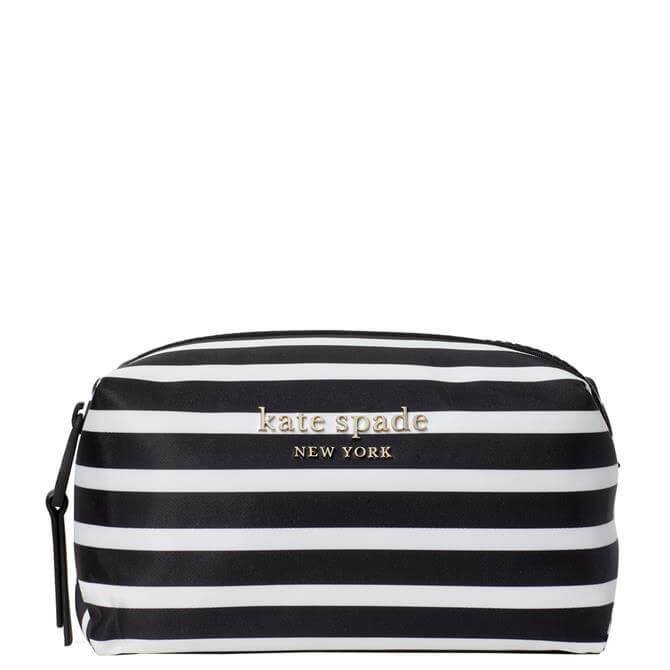 Kate Spade New York Everything Puffy Stripe Medium Cosmetic Case